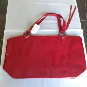 Vintage Neiman Marcus patent leather tote